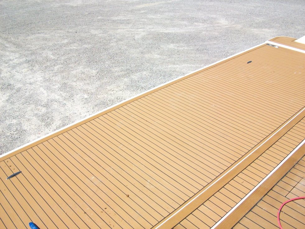 Exterior Decking Options Houseboat Refurbishing