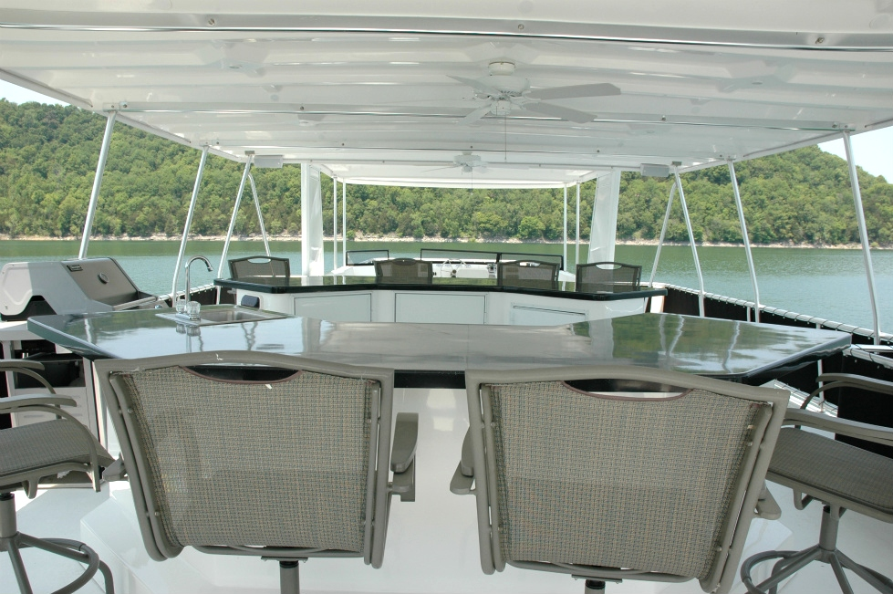 Party Top Options Houseboat Refurbishing