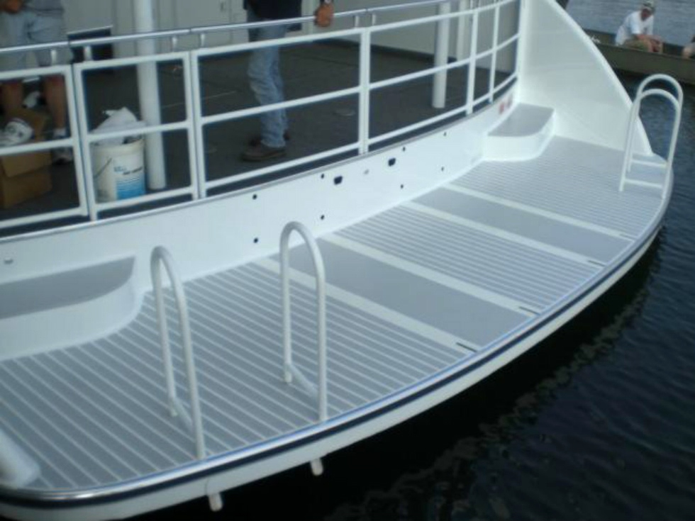 Swim Platform Options Houseboat Refurbishing