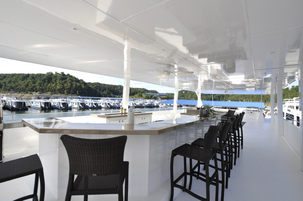 Bars/Outdoor Kitchens/ Tables Houseboat Refurbishing